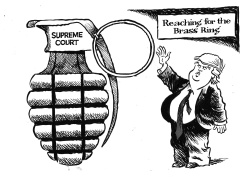 Justice Kennedy retires by Jimmy Margulies