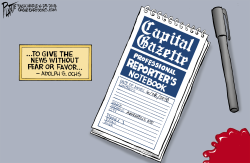 Capital Gazette massacre by Bruce Plante