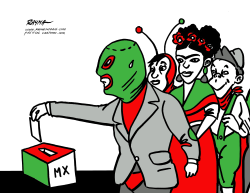 Elections in Mexico by Rayma Suprani