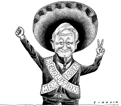 Andres Manuel Lopez Obrador wins Mexico election by Osmani Simanca