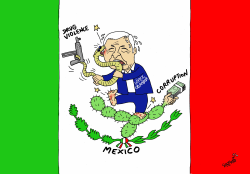 Next Mexican President by Stephane Peray