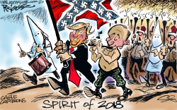 Spirit of 2018 by Milt Priggee