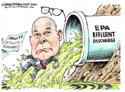 Pruitt flushed out by Dave Granlund