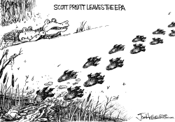 Scott Pruitt by Joe Heller