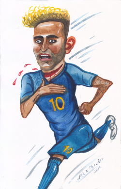 Neymar Jr by Alla and Chavdar
