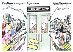 Thai boys rescue and media by Dave Granlund