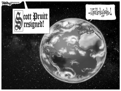 Scott Pruitt resigned by Bill Day