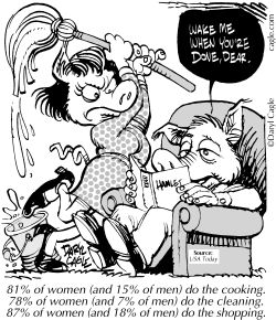 TRUE Marriage Work Allocation by Daryl Cagle