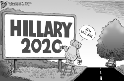 Hillary 2020 by Bruce Plante