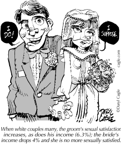 TRUE Marriage Sexual Satisfaction by Daryl Cagle