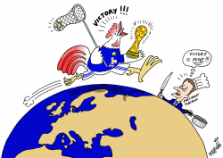 France wins FIFA World Cup by Stephane Peray
