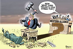 Trump and Western alliace by Paresh Nath