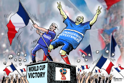 Victory for Immigrants by Paresh Nath