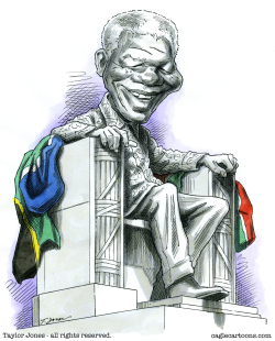Nelson Mandela -  by Taylor Jones
