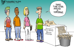 LOCAL OK First time voters by Bruce Plante