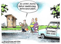 Affordable homes by Dave Granlund