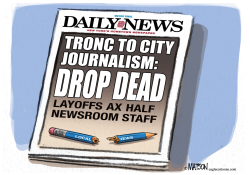 Daily News Layoffs by RJ Matson