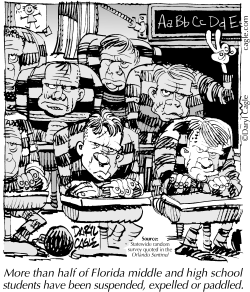 TRUE Crooks Kids School by Daryl Cagle