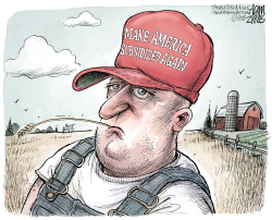 Farm bailout by Adam Zyglis