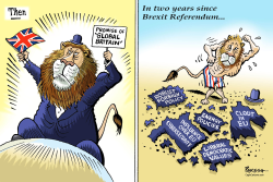 Global Britain dream by Paresh Nath