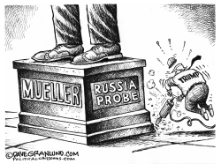 Russia Probe and Trump by Dave Granlund