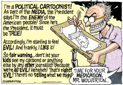 Enemies of the American People by Wolverton