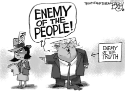 Enemy of the People by Pat Bagley