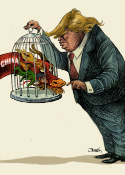 Relaciones con China - Trump and China by Dario Castillejos