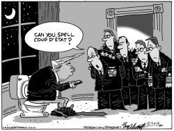 Military Coup by Bob Englehart