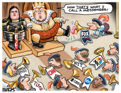 Kill the Messenger by Steve Sack