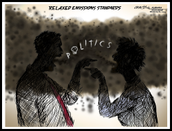 Political Emissions by J.D. Crowe