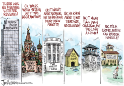 Russian Meeting by Joe Heller
