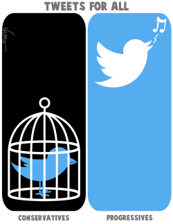 Twitter censorship by Jose Neves