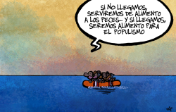 migrantes by Kap