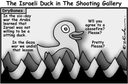 The Israeli Sitting Duck by Yaakov Kirschen