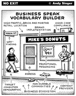 Business Speak Vocabulary Builder by Andy Singer