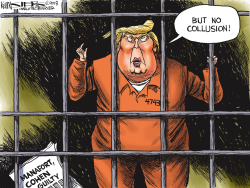 Manafort and Cohen Guilty by Kevin Siers