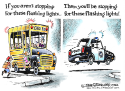 School bus safety by Dave Granlund