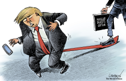 Setback for Trump by Patrick Chappatte
