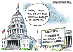 Labor Day and Congress by Dave Granlund