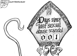 Pope's Hat by Pat Bagley