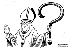 Pope Francis and the Catholic Church scandal by Jimmy Margulies