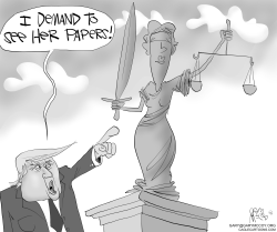 Lady Justice's Papers by Gary McCoy