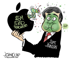 LOCAL NC Johnson and iPad ethics by John Cole