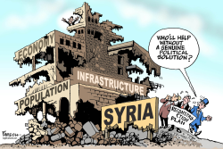 Reconstructing Syria by Paresh Nath