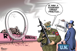 UN on Myanmar by Paresh Nath