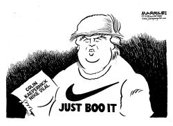 Colin Kaepernick NIKE Deal by Jimmy Margulies