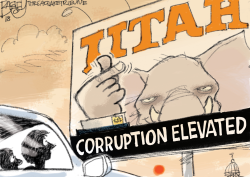LOCAL UTAH Corruption by Pat Bagley