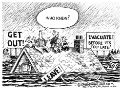 Hurricane evacuation orders by Dave Granlund