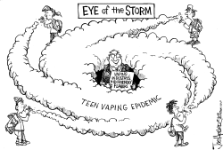 Vaping Teens by Joe Heller